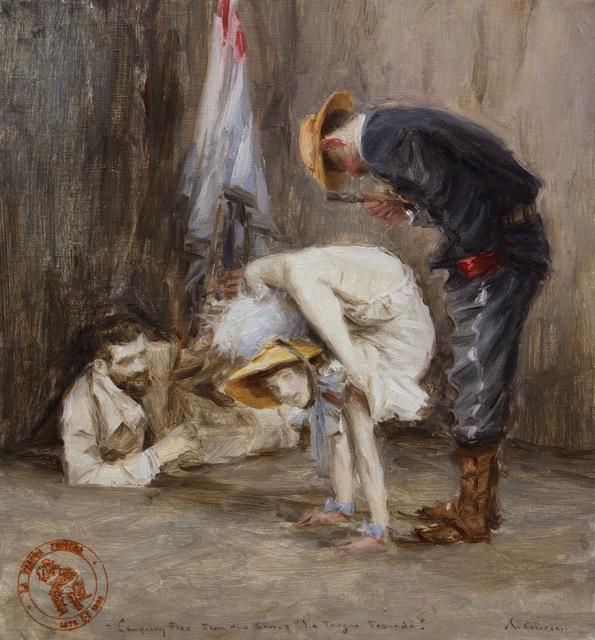 , 'Costumbres de la guerra fecunda,' 2016, Charlie Smith London