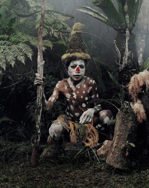 , 'Goggle Boy, Goroka, Eastern Highlands XV 59 (4/6),' , AbrahamArt