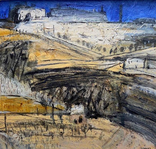 John Brown, 'Montalcino ', ca. 2018, Painting, Acrylic, Tatha Gallery