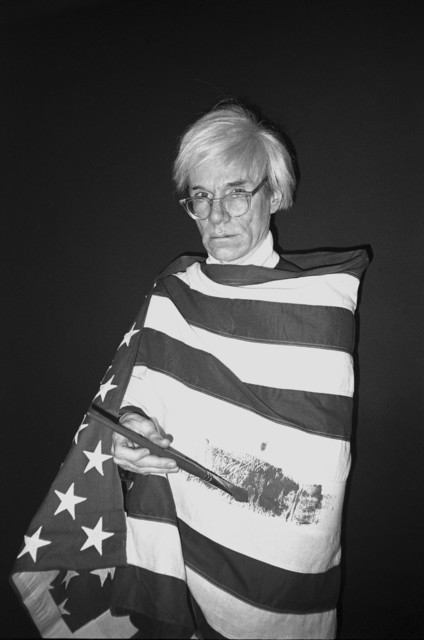 , 'Andy Wrapped in Flag,' 1983, MM Fine Art
