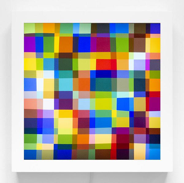 , 'Color Test (225),' 2019, James Cohan
