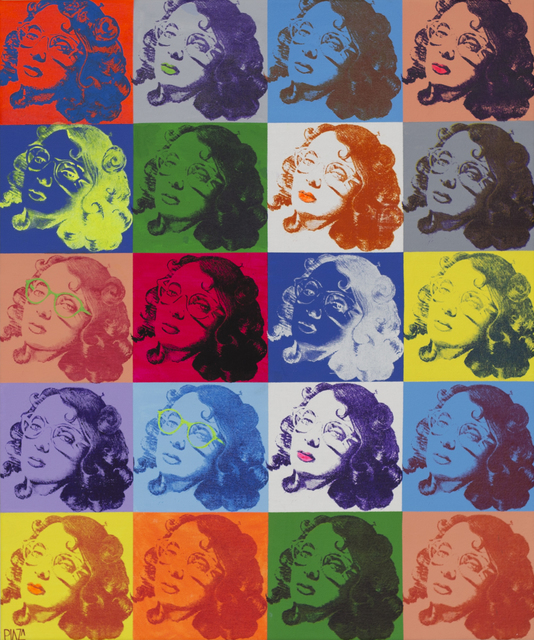 , 'So Warhol, so Rose                         ,' 2014, Canale Diaz Art Center