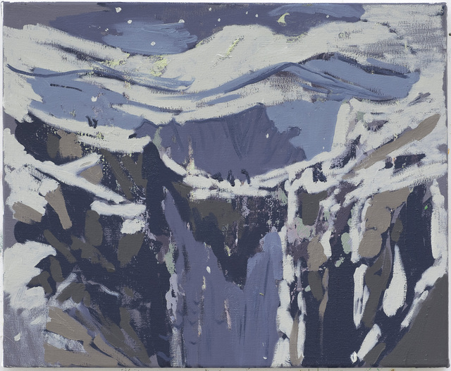 , 'Snow Bridge,' 2010, Nina Johnson