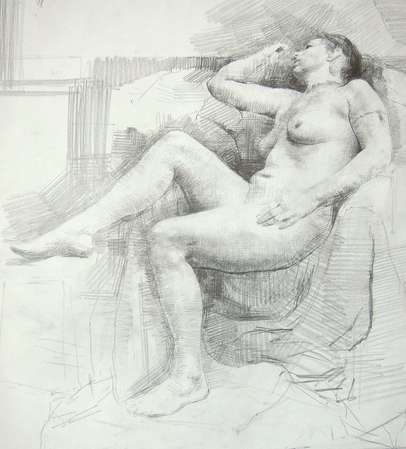 , 'Reclining Nude,' , Gallery 1261