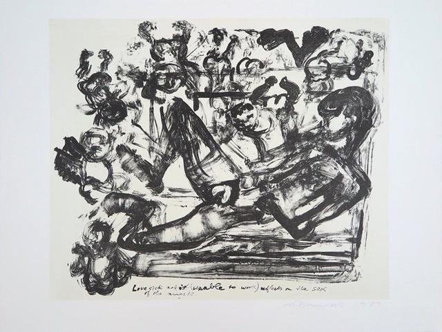 Marlene Dumas, 'Lovesick Artist', 1989, MLTPL