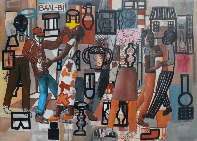 , 'Baal-bi,' 2017, The Hourglass Gallery