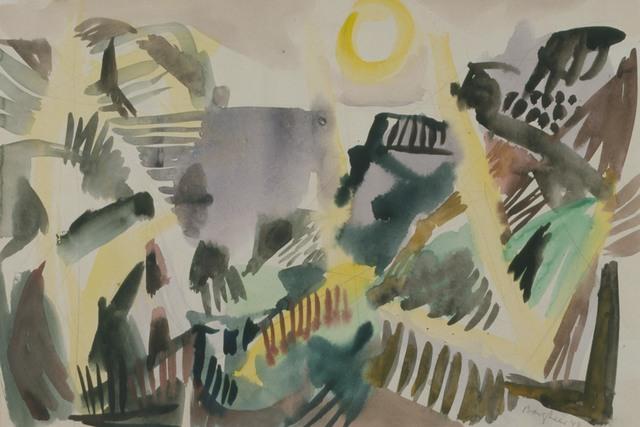 Eduard Bargheer, 'Schlucht (Canyon)', 1948, Henze & Ketterer