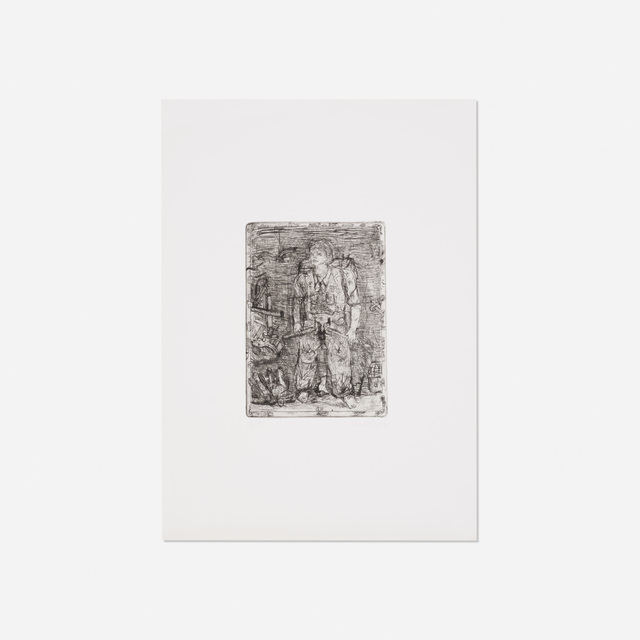 Georg Baselitz, 'Untitled', 1966/83, Wright