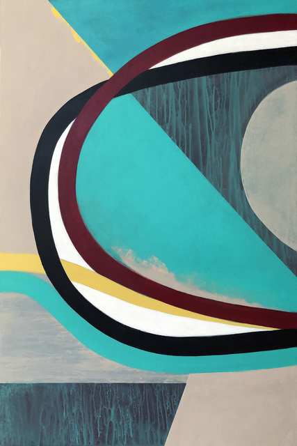 Liane Ricci, 'Early Apex', 2019, Painting, Acrylic on wood panel, Susan Eley Fine Art