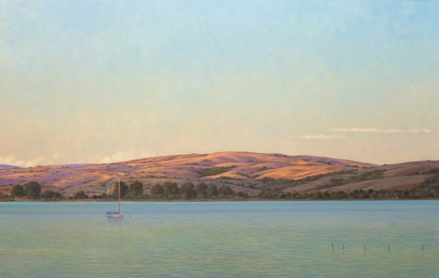 Willard Dixon, 'Tomales Bay Evening', 2017, Andra Norris Gallery