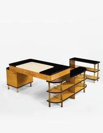 Kem Weber, 'Modular Desk for the Master's Sitting Room of the W.E. Bixby, Sr., Residence, Kansas City, Missouri,' circa 1936-1937, Sotheby's: Important Design