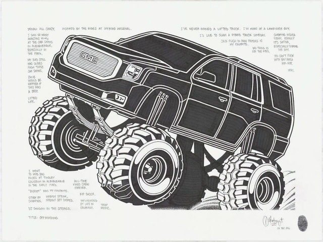 , 'Off Roading,' 2017, Black Book Gallery