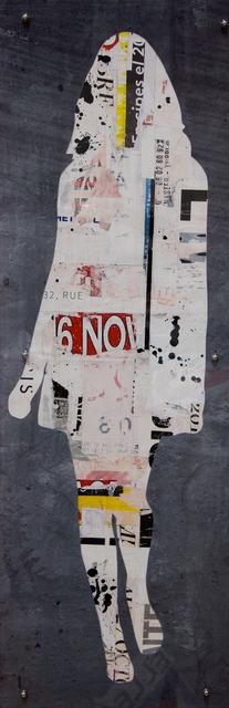 , 'Walking Girl Black,' 2018, Whitewall Contemporary