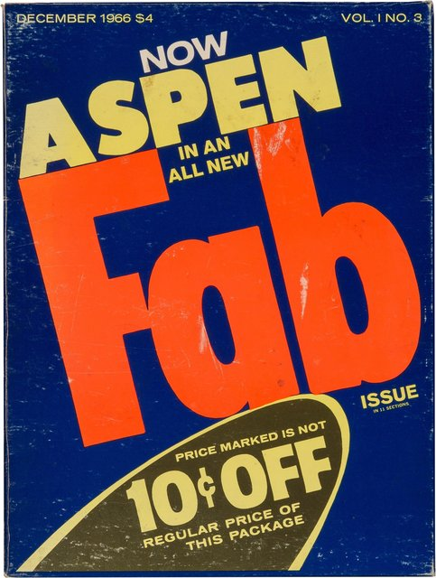 Andy Warhol, 'Aspen magazine, Vol. 1 No. 3', December 1966, Heritage Auctions
