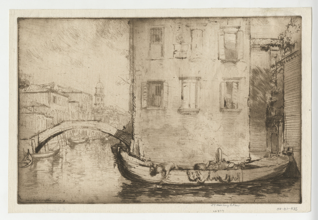 Donald Shaw MacLaughlan, 'Song from Venice, No.3', 1913, Childs Gallery