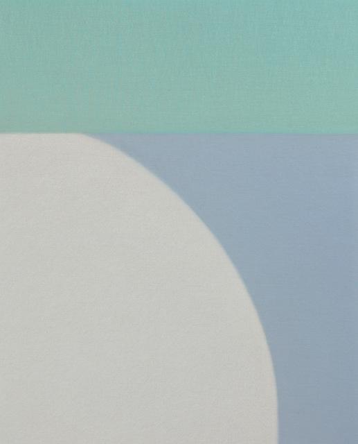 , 'Untitled (Turquoise/Blue Grey),' 2016, Tayloe Piggott Gallery