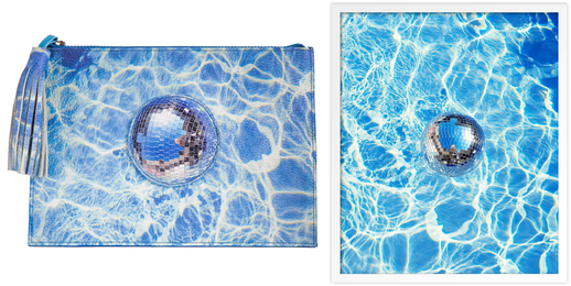 Limited Edition Disco Clutch & Limited Edition Disco Print