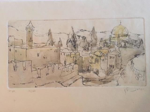 Judith Yellin Ginat, 'City of Jerusalem', 20th Century, Lions Gallery