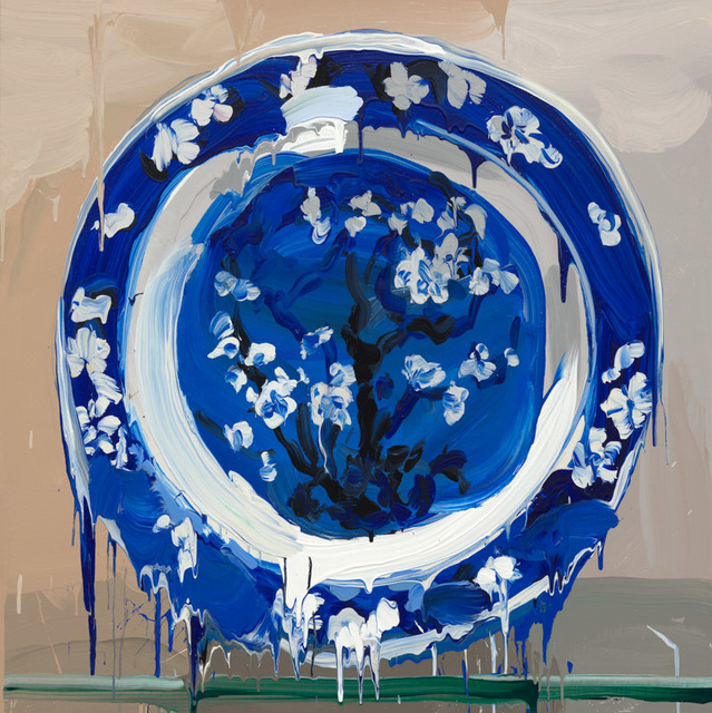 , 'China Blue,' 2017, Galerie Zwart Huis