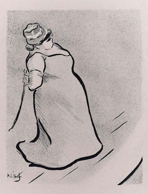 Henri-Gabriel Ibels, 'Jeanne Bloch', 1893, Wallector