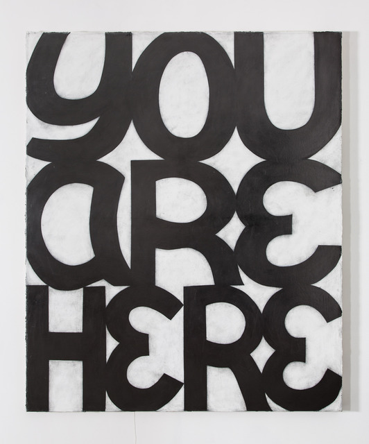 , 'YOU ARE HERE,' 2013, Nina Johnson