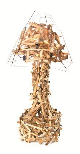 Benjamin Rollins Caldwell, 'Wingin' It Floor Lamp', 2013, Avant Gallery