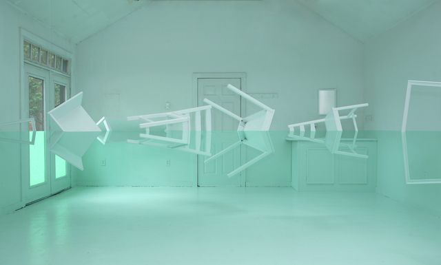 , 'Green House,' 2011, salon de H