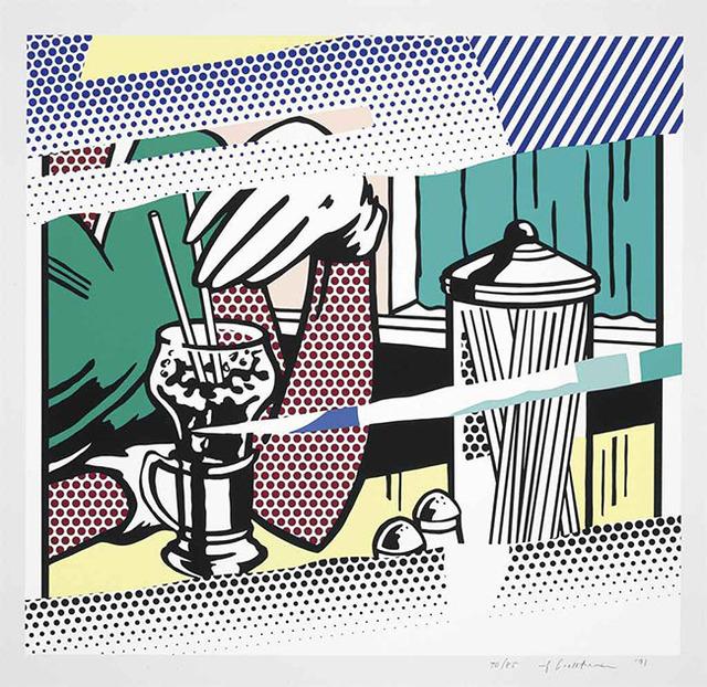 Roy Lichtenstein, 'REFLECTIONS ON SODA FOUNTAIN', 1991, Marcel Katz Art