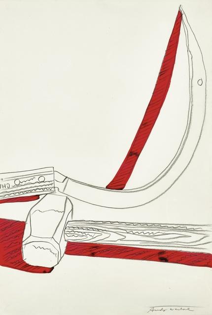 Andy Warhol, 'Still-Life (Hammer & Sickle)', 1977, Sotheby's