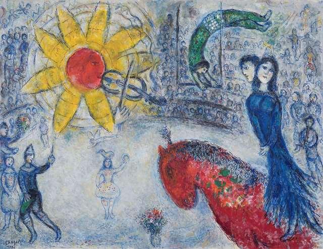 , 'Soleil au cheval rouge,' 1977, Opera Gallery