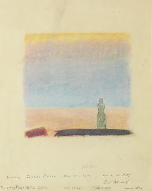 , 'Evening, Beverly Harbor,' 1972, Alexandre Gallery