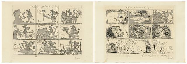 Pablo Picasso, 'Sueño y Mentira de Franco I & II', 1937, Christie's