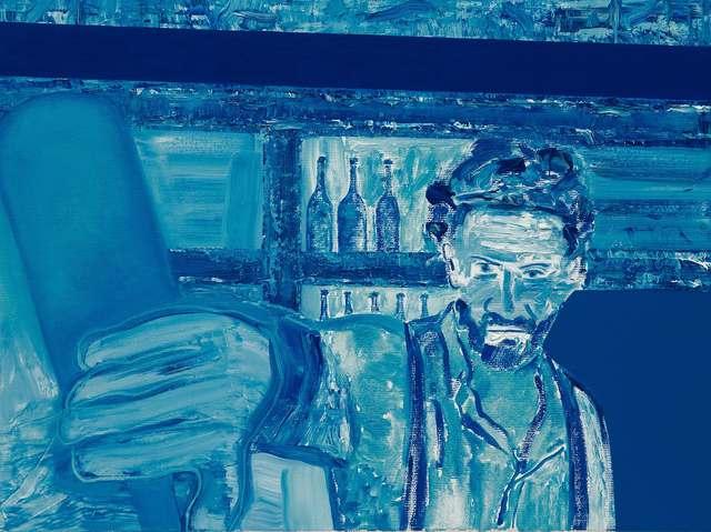 , 'Autoritratto Preparando un Martini (Neptunus),' 2017, M77 Gallery