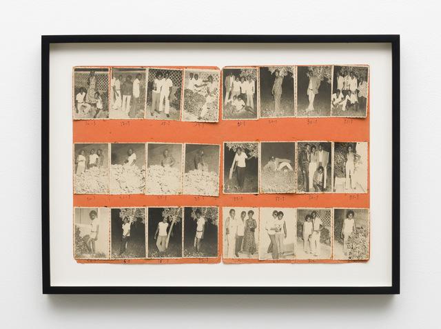 , 'Nuit du 8/7/72,' 1972, Laurence Miller Gallery