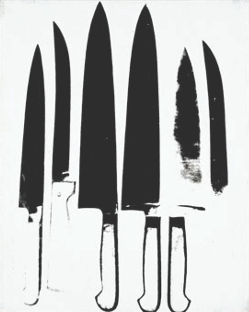 , 'Knives,' 1981, CARDI GALLERY