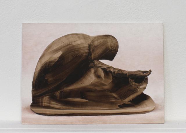 , 'Postcards to AZ: Russian Beggar Woman, 1907,' 2016, Josée Bienvenu