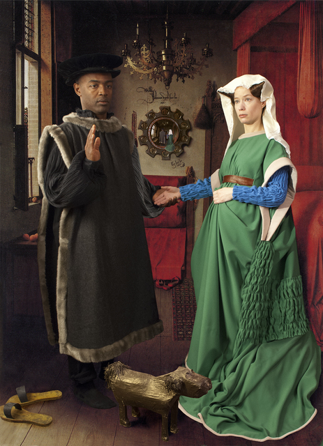 , 'Ode to Van Eyck's Arnolfini Marriage,' 2012, Jonathan Ferrara Gallery