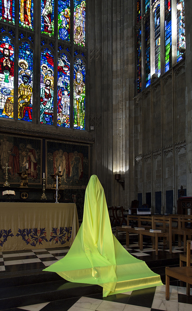 , 'Woman at Eton College Chapel (IV),' 2016, Karavil Contemporary