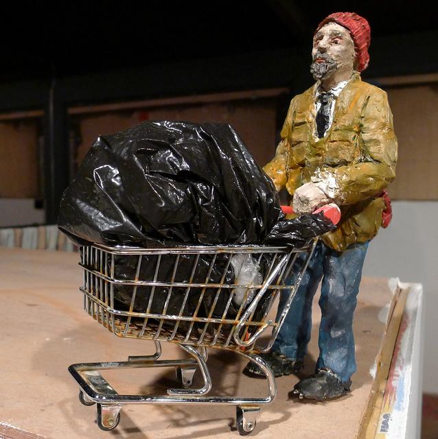 , 'Homeless,' 2013, ANNO DOMINI