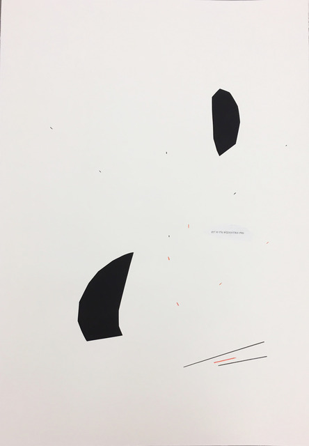 , 'a poem as an argument,' 2018, Christine König Galerie