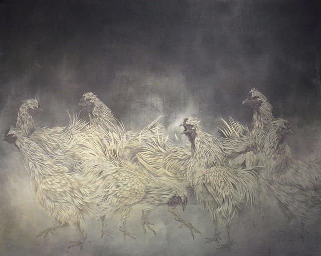 , 'Sacred Birds,' 2018, SEIZAN Gallery