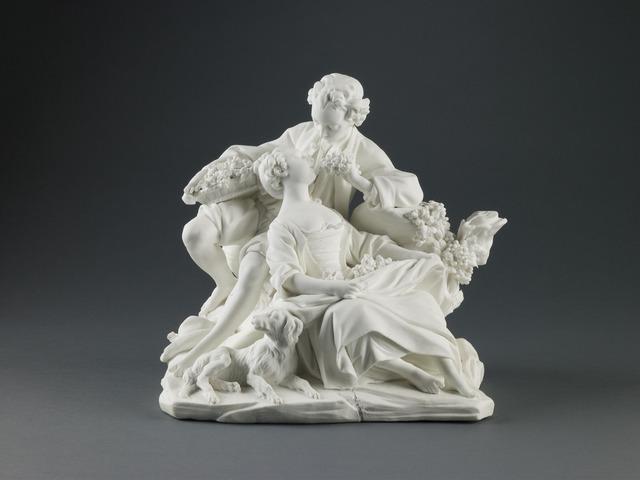 Sèvres Porcelain Manufactory, 'The Grape Eaters', 1757-1766, Saint Louis Art Museum