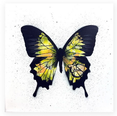 , 'Butterfly (yellow) ,' 2017, Spoke Art