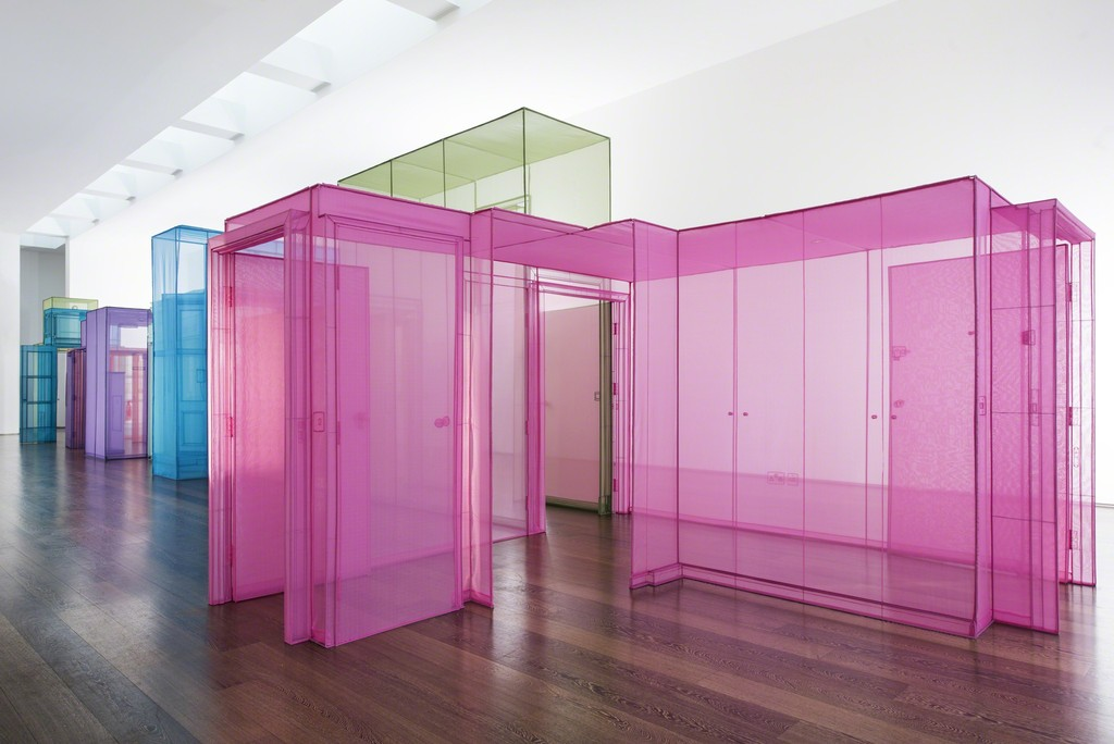 Passage/s by Do Ho Suh, who recently had an exhibition in Madison, Wisconsin and Hong Kong.