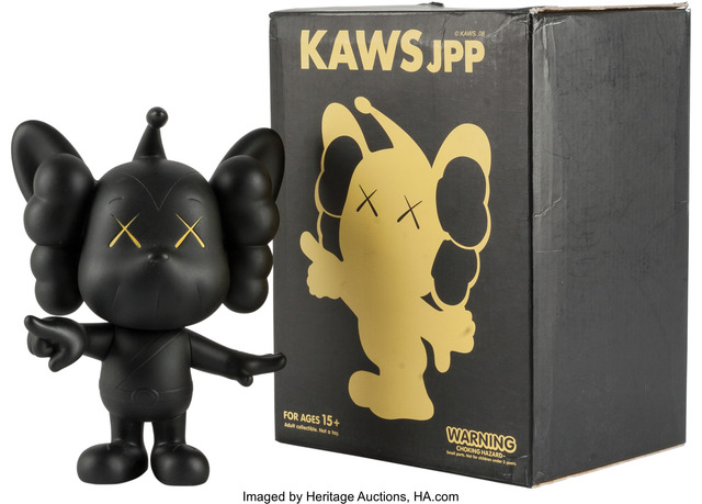 KAWS, 'JPP (Black)', Other, Heritage Auctions