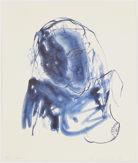 Tracey Emin, 'Blue Madonna', 2020, Print, Lithograph on paper, Hang-Up Gallery