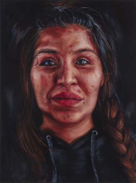 , 'Warrier,' 2018, BBAM! Gallery