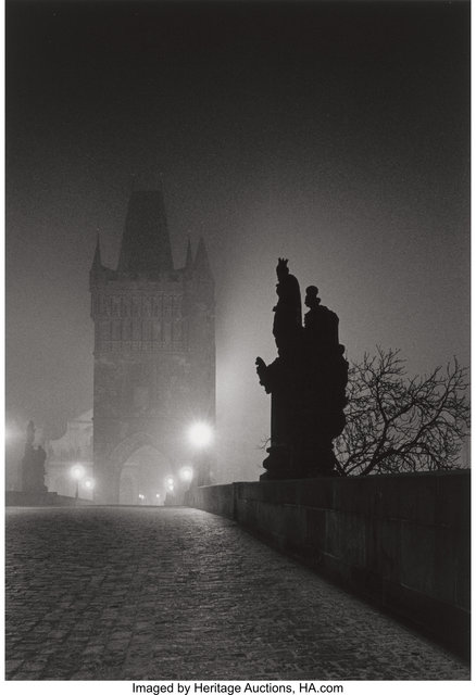 Michael Kenna, 'Charles Bridge, Study 4, Prague, Czechoslovakia', 1989, Heritage Auctions