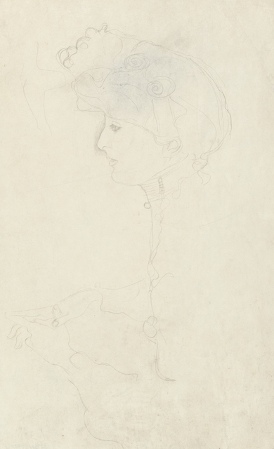 , 'Portrait of a Woman in Profile, Facing Left,' 1904-1905, Galerie St. Etienne