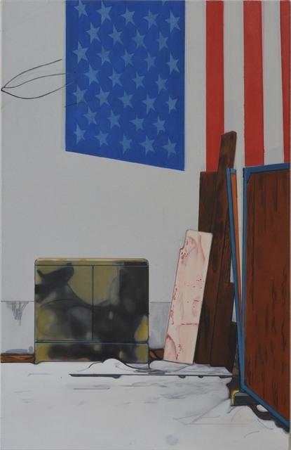 , 'Warschauer Str., Flagge,' 2016, Gaa Gallery